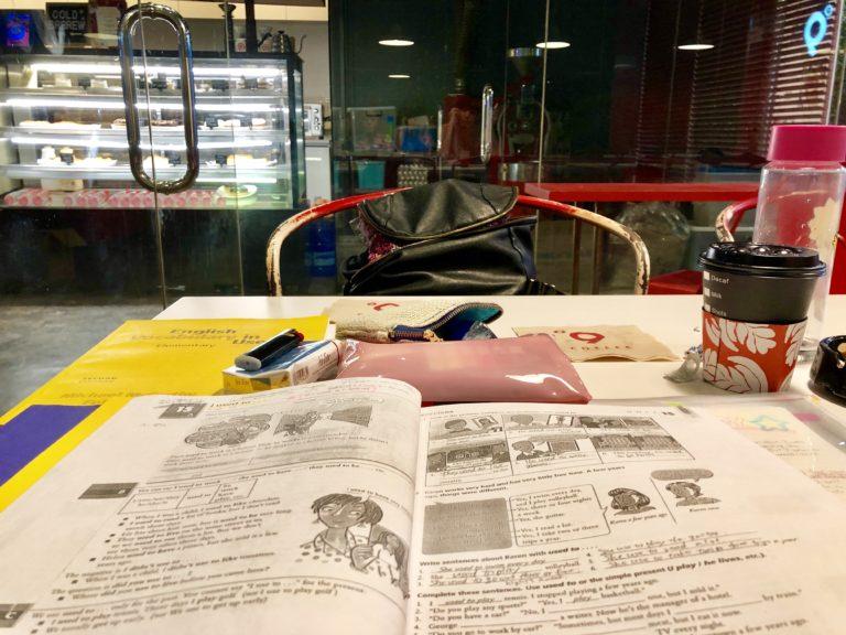 セブ カフェで勉強